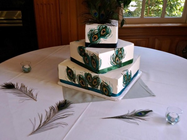 1444171924999 Peacock Cake Manitou Springs wedding venue