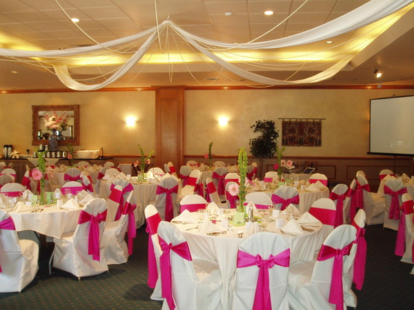 1444248420999 Chair Covers White  Pink 005 Manitou Springs wedding venue