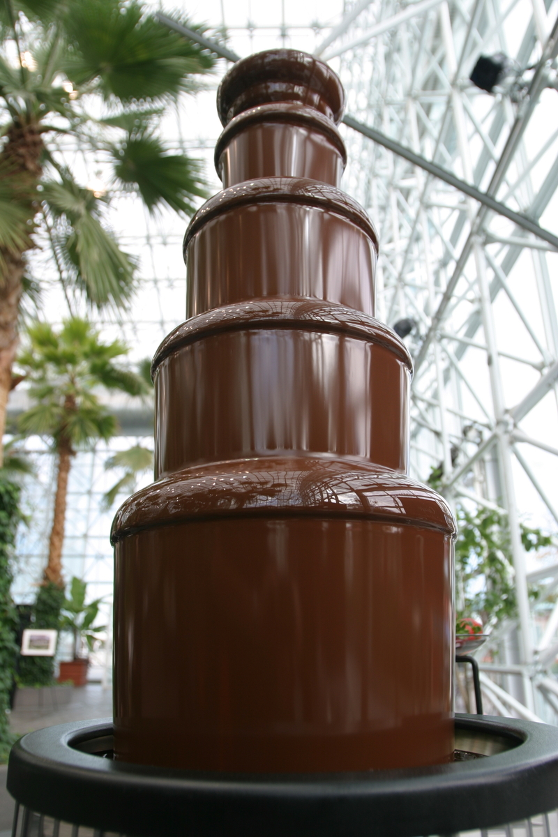 chocolate fountain wedding cake chicago chocolate unique services hillside 12702