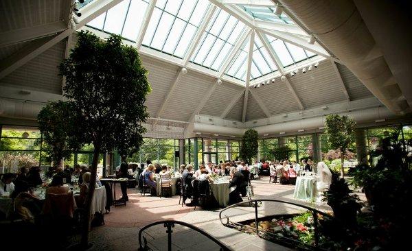 The atrium at meadowlark botanical gardens vienna va - Meadowlark botanical gardens wedding ...
