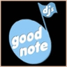 96x96 sq 1261264029640 goodnotedjlogoinblack