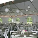 130x130 sq 1340980616357 tent20with20tables20and20chairs
