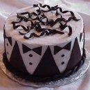 130x130 sq 1227224569985 groom cakes 01