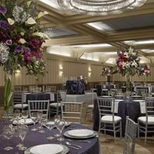 220x220 sq 1425000966043 1   cadillac wedding   blueberry crinkly taffeta