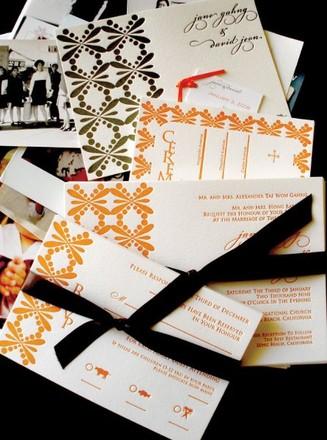 Los angeles wedding invitations reviews for invitations olive hue paper goods stopboris Gallery