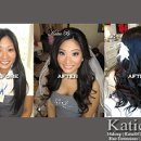 Makeup, Hair Extensions for Fullness, & Hair Styling by Katie B on Bride Jennifer. Location: Las Vegas, NV. Jennifer is wearing all KatieBCosmetics.com.