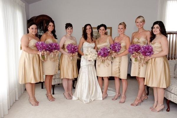 White And Purple Summer Wedding Dresses 82