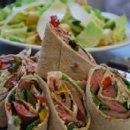 130x130 sq 1270697204274 flanksteakwraptwomomscatering