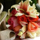 130x130 sq 1396627335471 bouquet and shoe