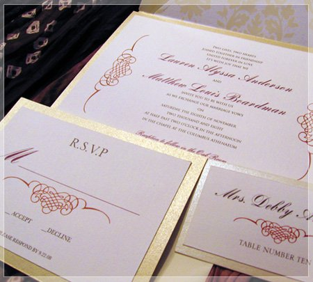 1296224655050 goldred columbus wedding invitation
