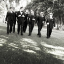 130x130 sq 1369867352433 bw groomsmen walking