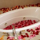 130x130 sq 1270481598742 whirlpooltubwithflowerpetals