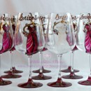 Bridal Party Gifts: Personalize Bridesmaids Wine Glasses
