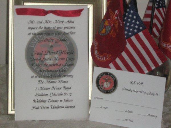 military wedding invitations fort lauderdale fl wedding invitation