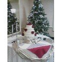 130x130 sq 1254867095504 weddingcake4tiersredroseschristmas