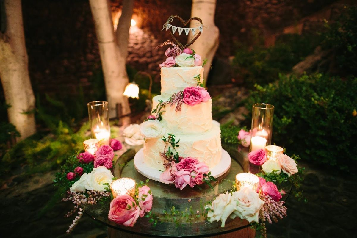 Top Tier Treats Wedding Cake Los Angeles CA WeddingWire - Wedding Cakes Los Angeles