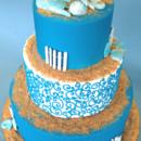 130x130 sq 1375057782451 beach cake round 2