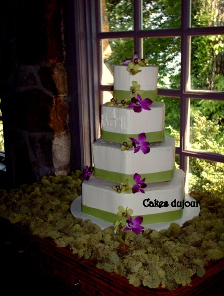 cakes du jour wilmington nc wedding cake