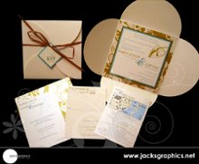 Jacks Graphics Invitations + Design photo