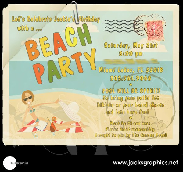 photo 3 of Jacks Graphics Invitations + Design