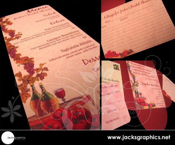 photo 7 of Jacks Graphics Invitations + Design
