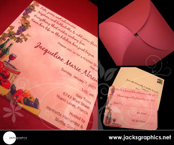 photo 10 of Jacks Graphics Invitations + Design