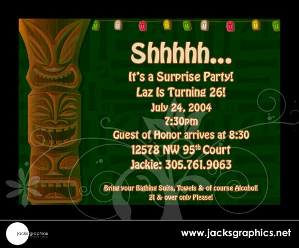 photo 38 of Jacks Graphics Invitations + Design