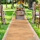 130x130 sq 1422397705317 burlap and lace aisle runner2