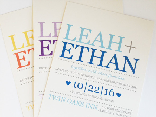 1399234382922 775 Durham wedding invitation