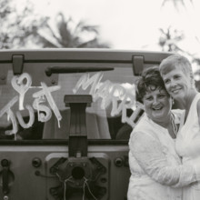 220x220 sq 1493710594864 diana and jayne with just married jeep
