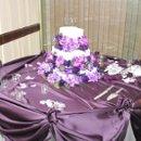 130x130 sq 1215052271948 weddingcakefullviewwithtable