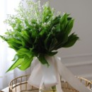 130x130 sq 1391790861484 lilly of the valley bouquet with leave