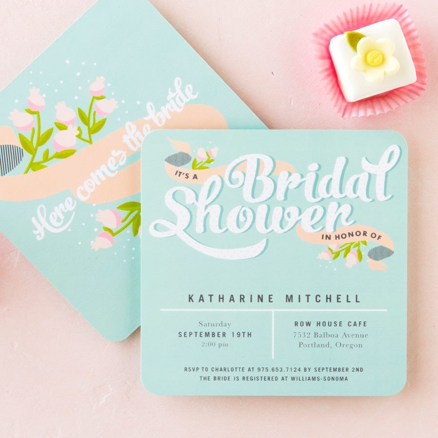 Wedding Paper Divas Wedding Invitations Photos by Wedding Paper – Wedding Paper Divas Bridal Shower Invitations