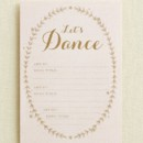 Naturally Beautiful Wedding Song Request Card in Chenille Designed by: Magnolia Press