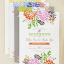 Winsome Blooms Wedding Invitations Designed by: Stacey Day for Wedding Paper Divas