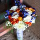130x130 sq 1474902806190 orange and blue bouquet