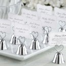 Kissing Bell Place Card / Photo Holder (Set of 24)