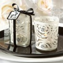 White Rose Art-Deco Candle Holders http://www.littlethingsfavors.com/whrocahowefa.html