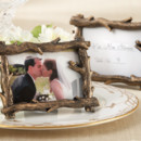"""Scenic View"" Tree-Branch Place Card Frame"