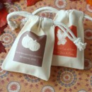 Fall & Halloween Theme Silhouette Muslin Bag Wedding Favors