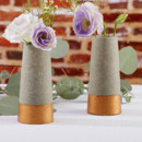 130x130 sq 1453492589265 copper and concrete bud vase wedding favors set of