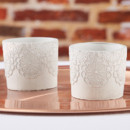 130x130 sq 1453492909226 concrete lace tealight holder candle wedding favor