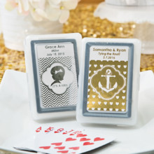 220x220 sq 1456252219692 metallic personalized playing card favors silver o