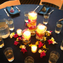130x130 sq 1371332052409 navy blue candle center decor 2