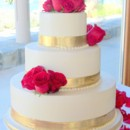 130x130 sq 1384651093886 rose gold cake cc