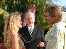 Reverend Michael Wedding Officiant photo
