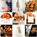 130x130 sq 1302255765903 beachweddingthemeinorangetaupebrown