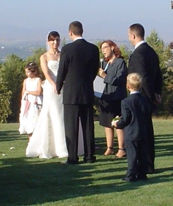 photo 6 of Spiritual Vows: Jae Weiss Farkas, M.S., D.D., Wedding Officiant