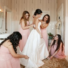220x220 sq 1488479861031 bride in bridal suite getting ready