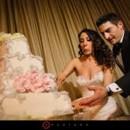 130x130 sq 1420940303862 fantasy frostings wedding cake blush and silver